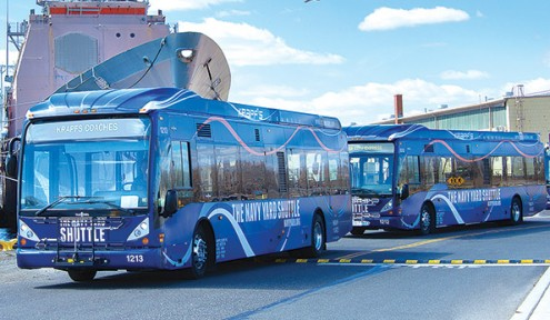 West Chester Bus Company Bridges Navy Yard Transportation Gap