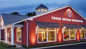 Tague Lumber showroom