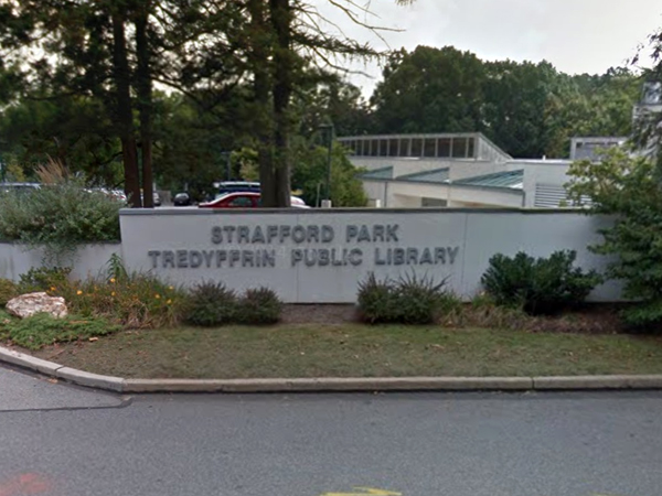 Image result for tredyffrin library logo