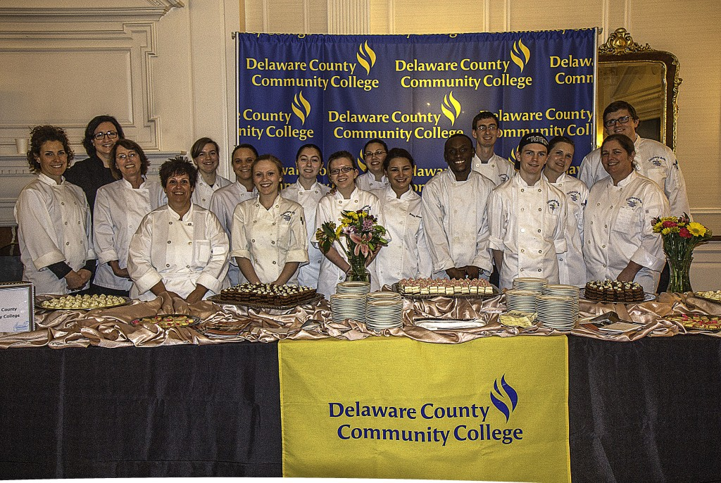 Delaware County Community College Pastries Fill The Plates Of The Displaced