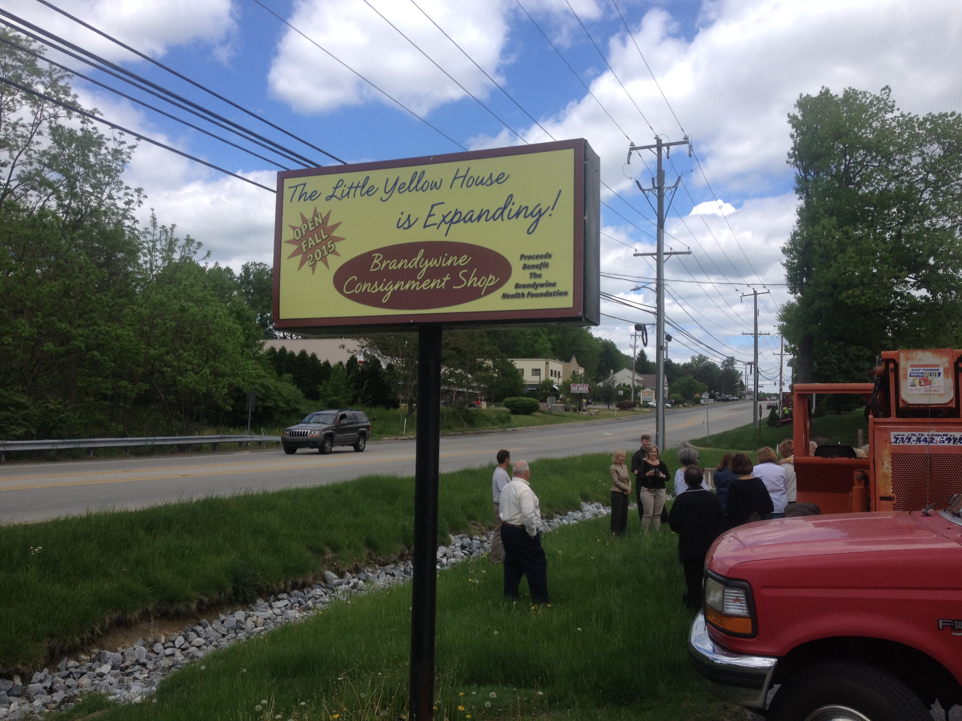 Brandywine consignment shop breaks ground on little for The little house shop