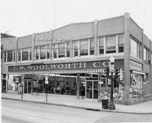 West Chester's Woolworth Five & Dime store on Gay and High Street.