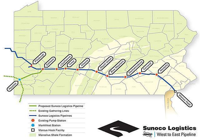 Proposed Sunoco Logistics Pipeline Neighbors Rally To Be In The Know
