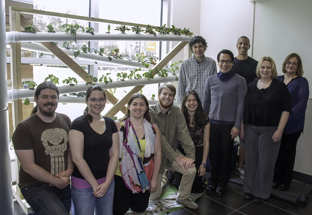 Delaware County Community College Students Cultivate Innovation With Hydroponic Garden