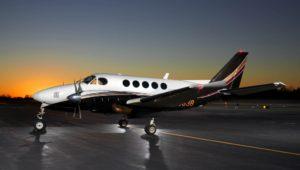 FlyAdvanced Aircraft Dusk
