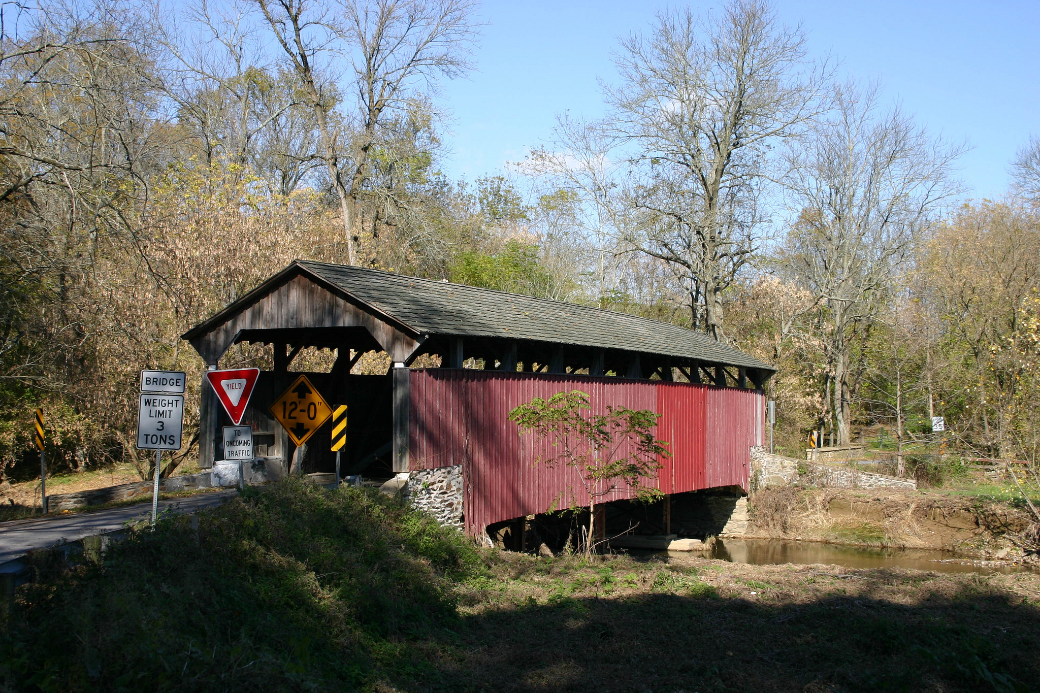 Covered Bridge: Weekend Reading