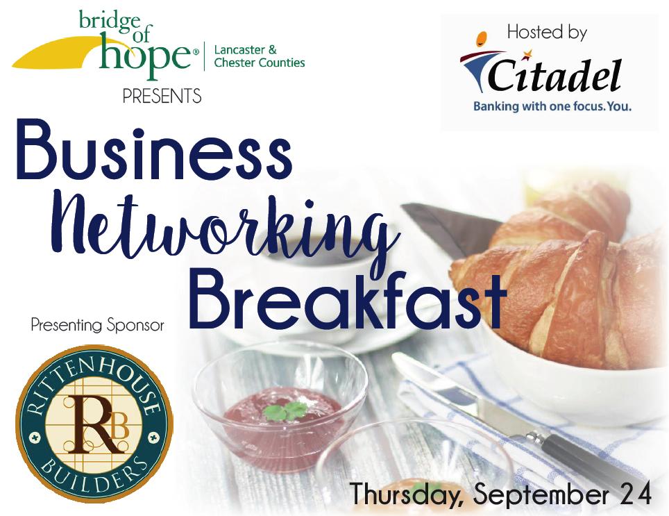 Bridge of Hope Business Networking Breakfast - VISTA.Today