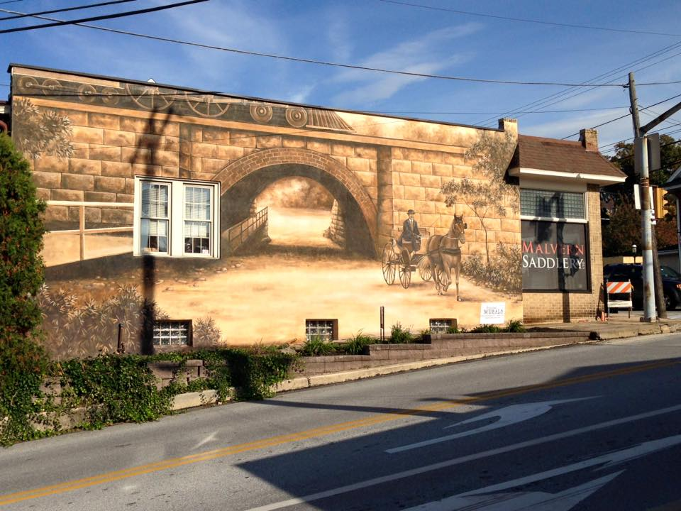 In Muraled Malvern, Artistic Masterpieces Are Just Around the Corner