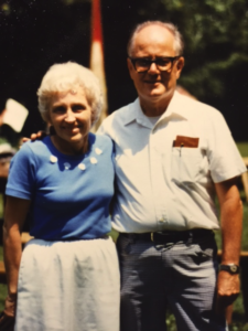 Mr. & Mrs Gates (Circa 1982)