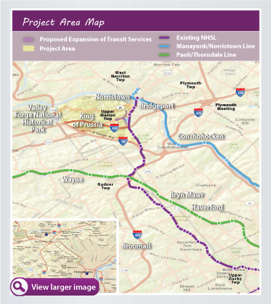 New Study Says KOP-Philly Rail Could Increase Area ...