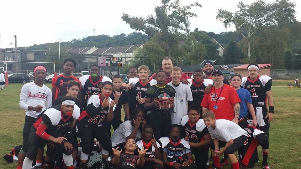 Coatesville Kid Raiders Crowned With 14-and-Under Football Championship