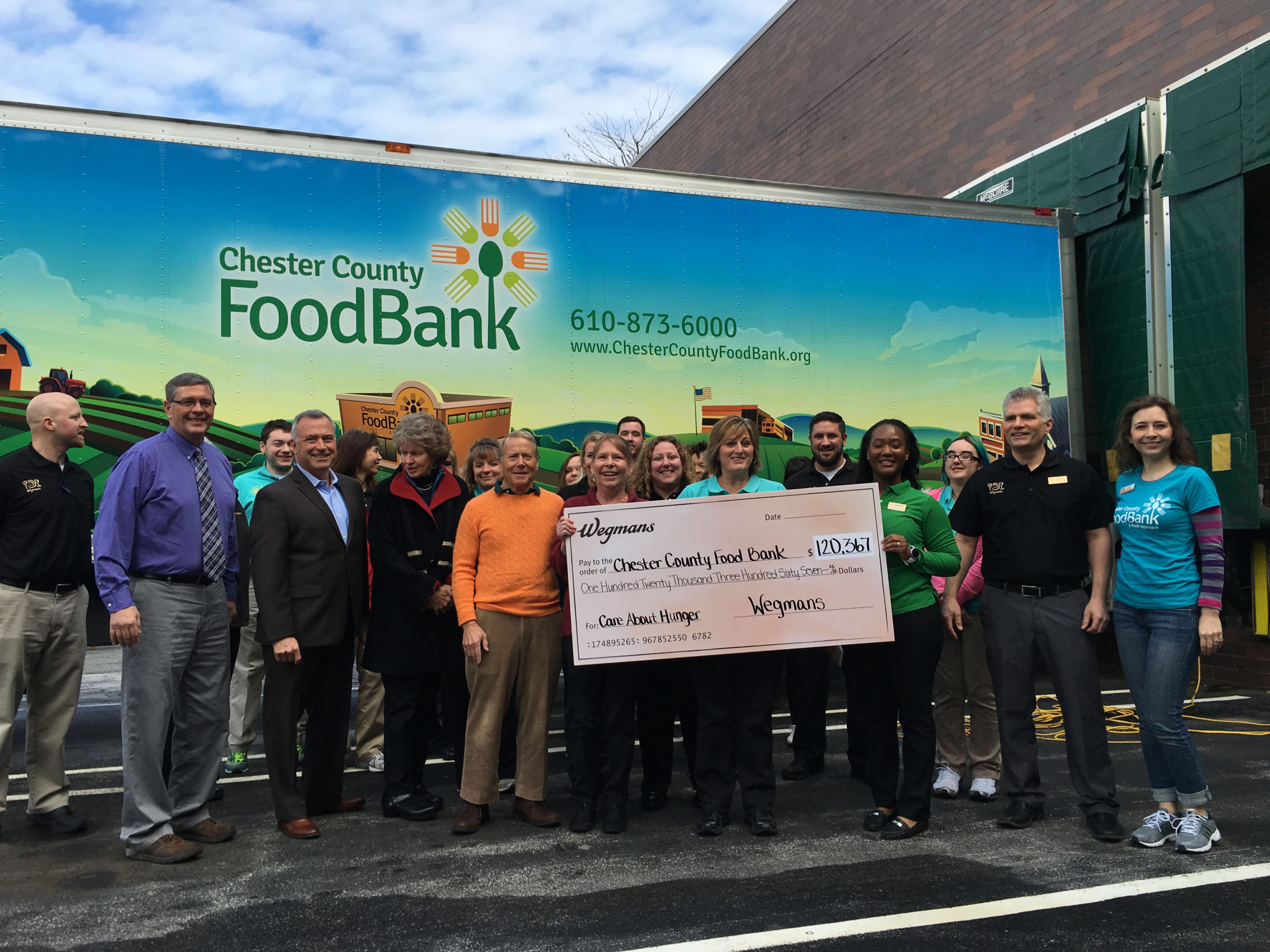 Chester County Food Bank's Robert McNeil Talks Life, Work, and Philanthropy with Chadds Ford Live