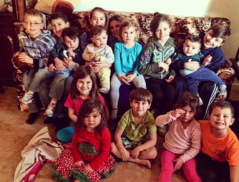 15 of Ted and Doris's Great Grandchildren