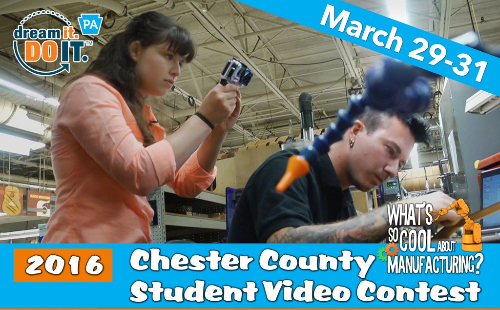 """Today is the Final Day to Vote in Student """"What's So Cool About Manufacturing?"""" Contest"""