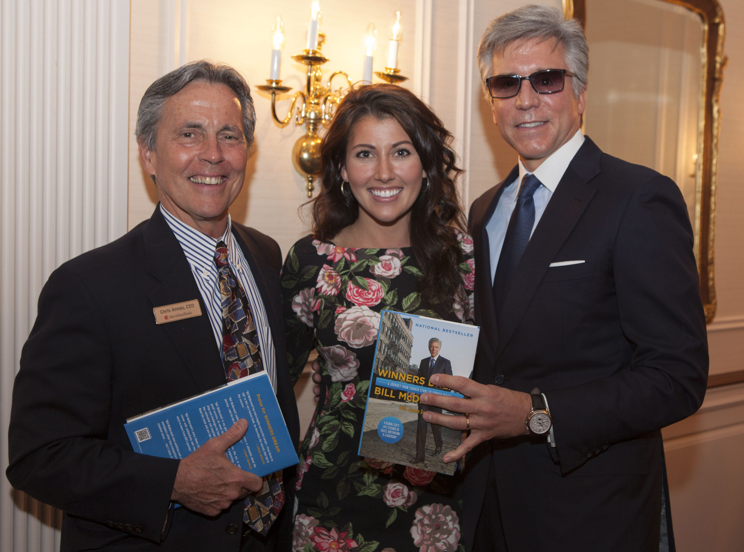 Meridian Bank Hosts an Inspirational Bill McDermott for Business-Owning Clients at Desmond Hotel