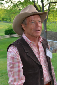 Bob McNeil at last year's Brandywine Health Foundation's Annual Garden Party.