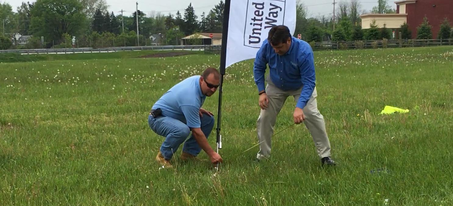 VIDEO: United Way Holds UPS Helicopter Ball Drop, Announces Winners