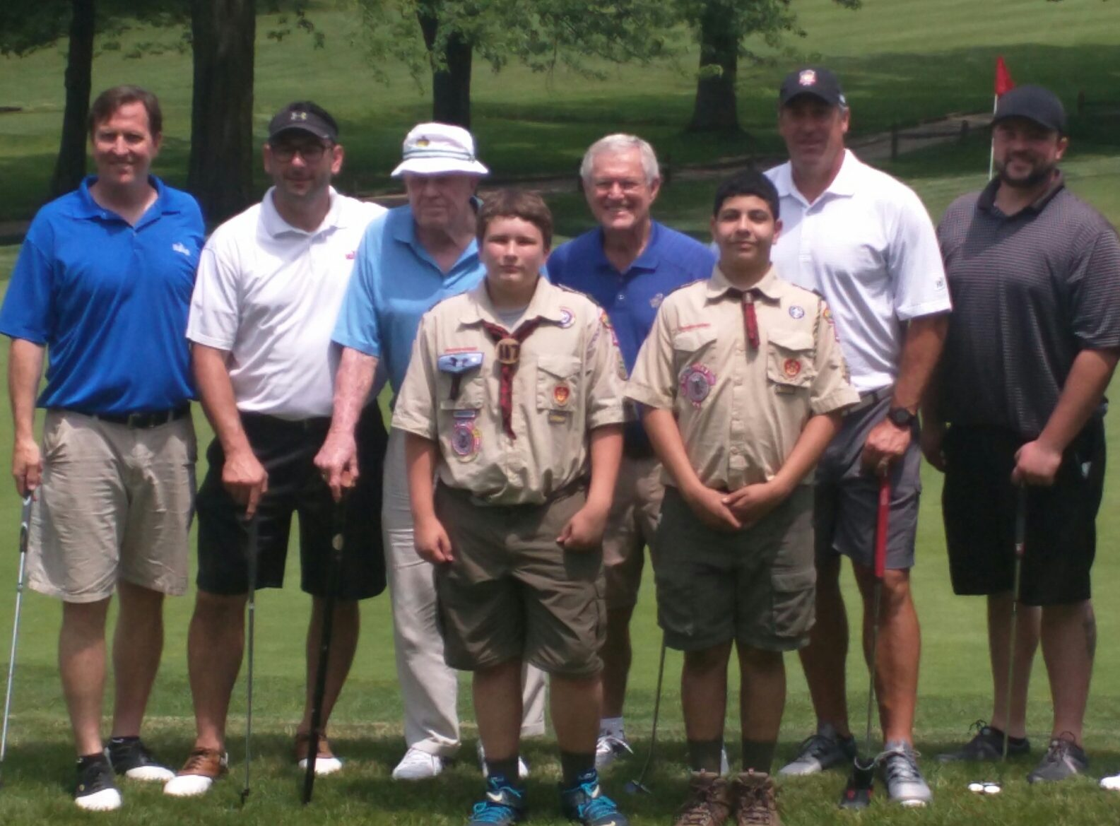 Football Royalty Descends Upon Downingtown Country Club to Support Dick Vermeil, Boy Scouts