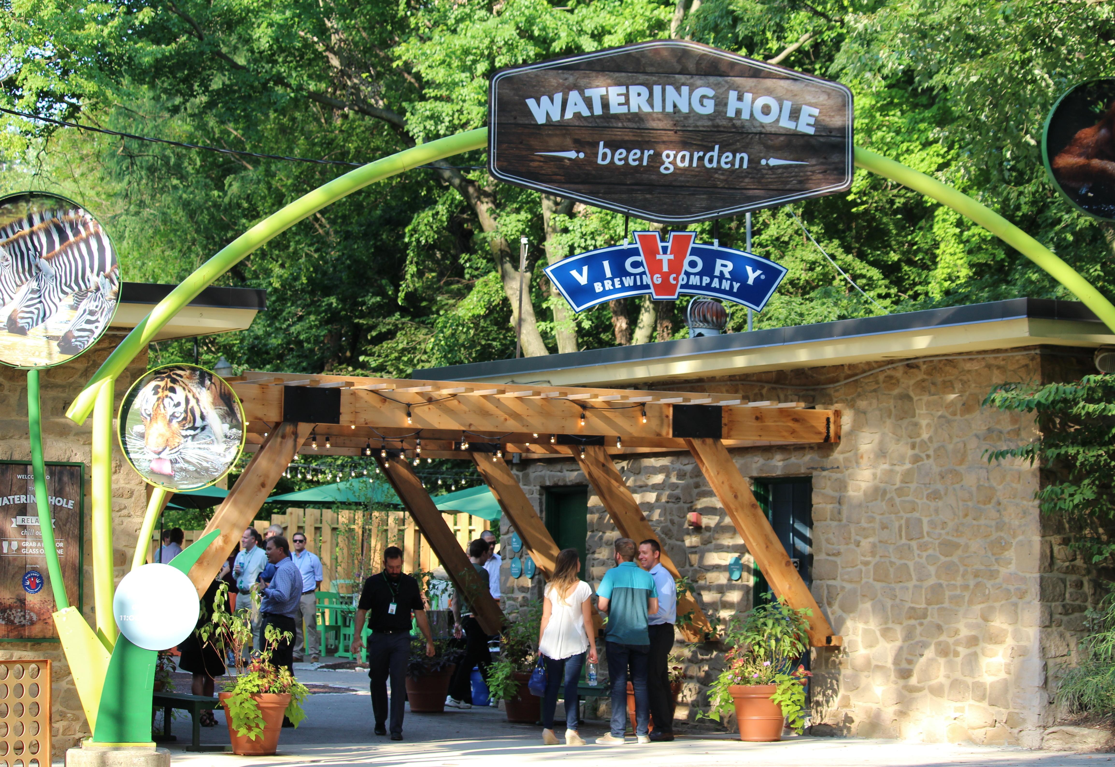 The Philadelphia Zoo Now has a Beer Garden Full of Victory Beer