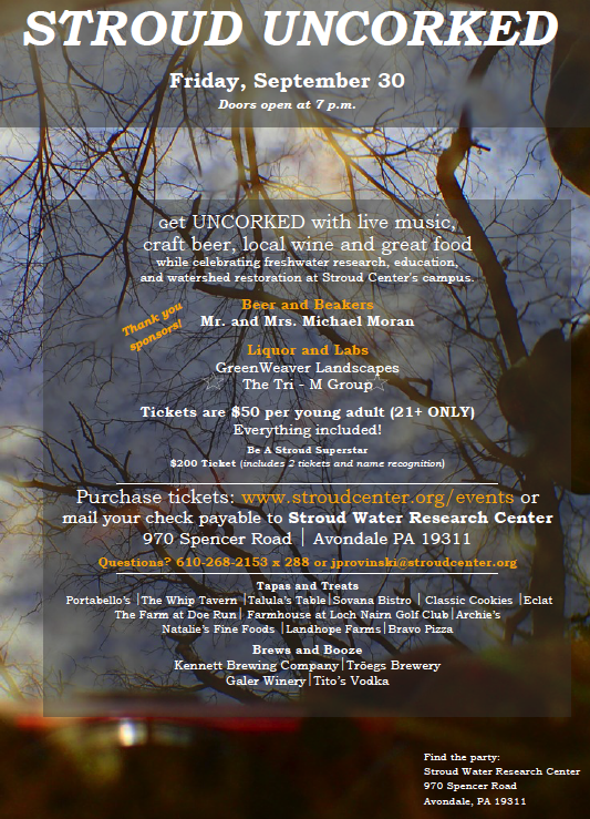 Charity Event: Stroud Uncorked