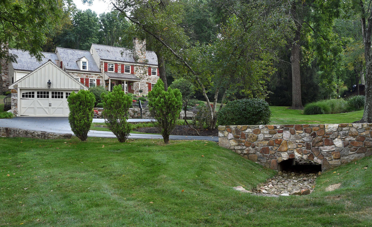 Restoring an Exton Home to the Way It Never Was