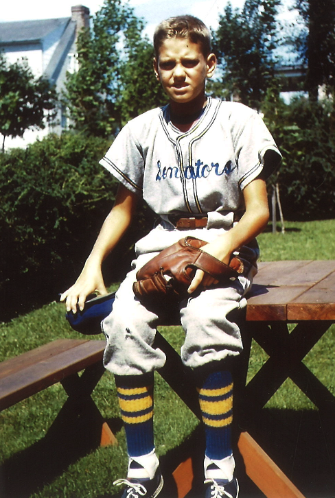 11-year old little league photo growing up in Upper Merion.