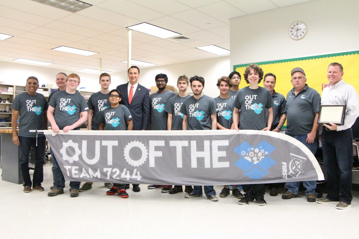 Rep. Costello Promises Students He'll Co-Sponsor Bill Supporting STEM Leadership