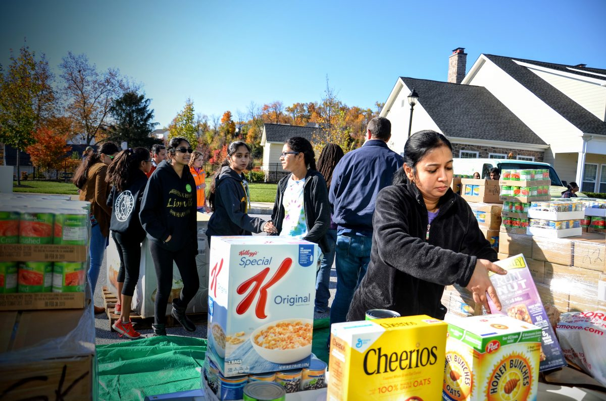 Chester County Food Bank Receives 32,000 Pounds of Food from Diwali Celebration