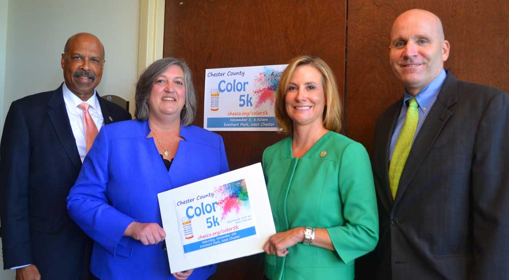 Color 5K Brings Splash of Brightness to Fight Against Chester County's Opioid Epidemic