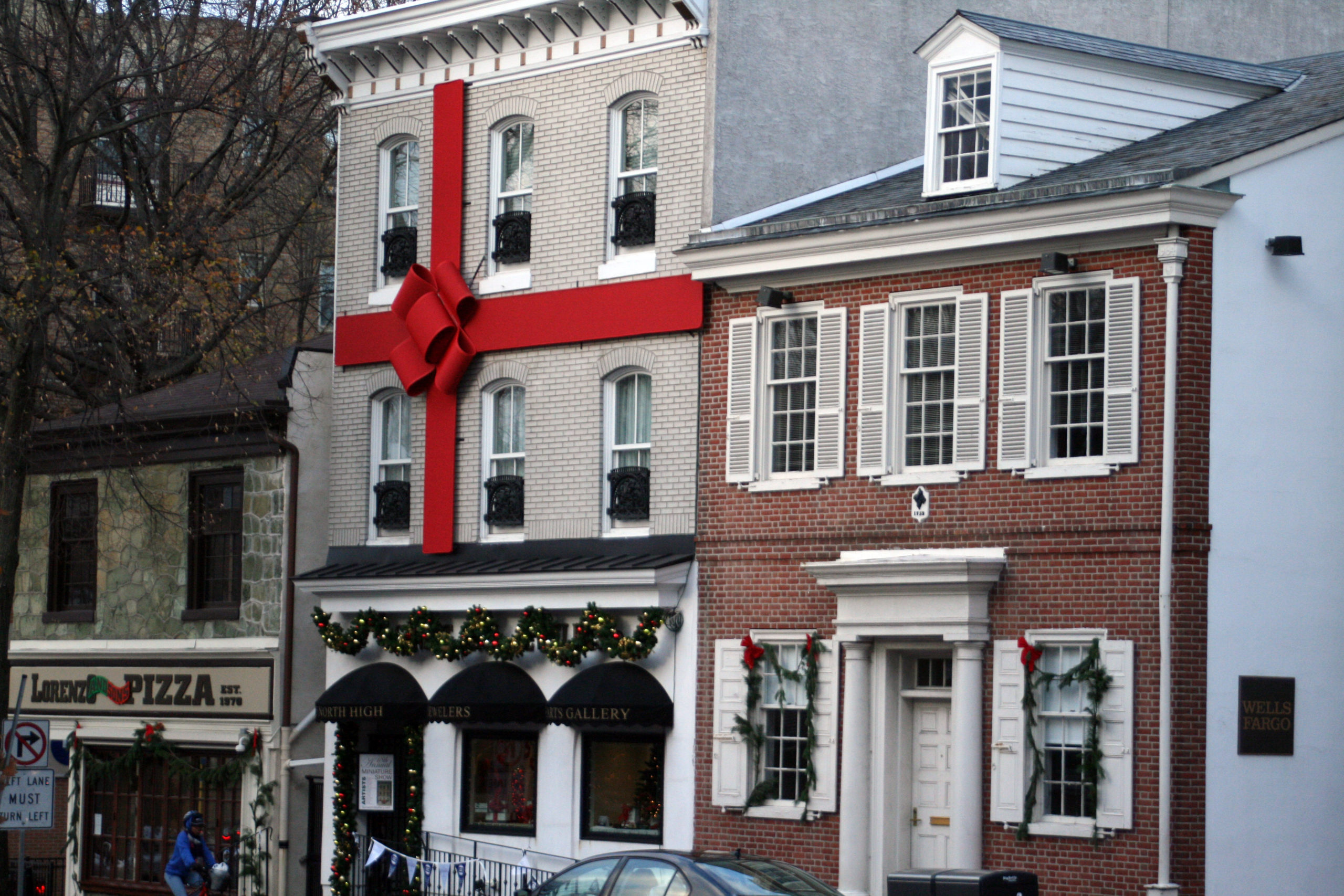 A West Chester Jeweler Has Transformed Her Store into a Giant Present and It's Awesome