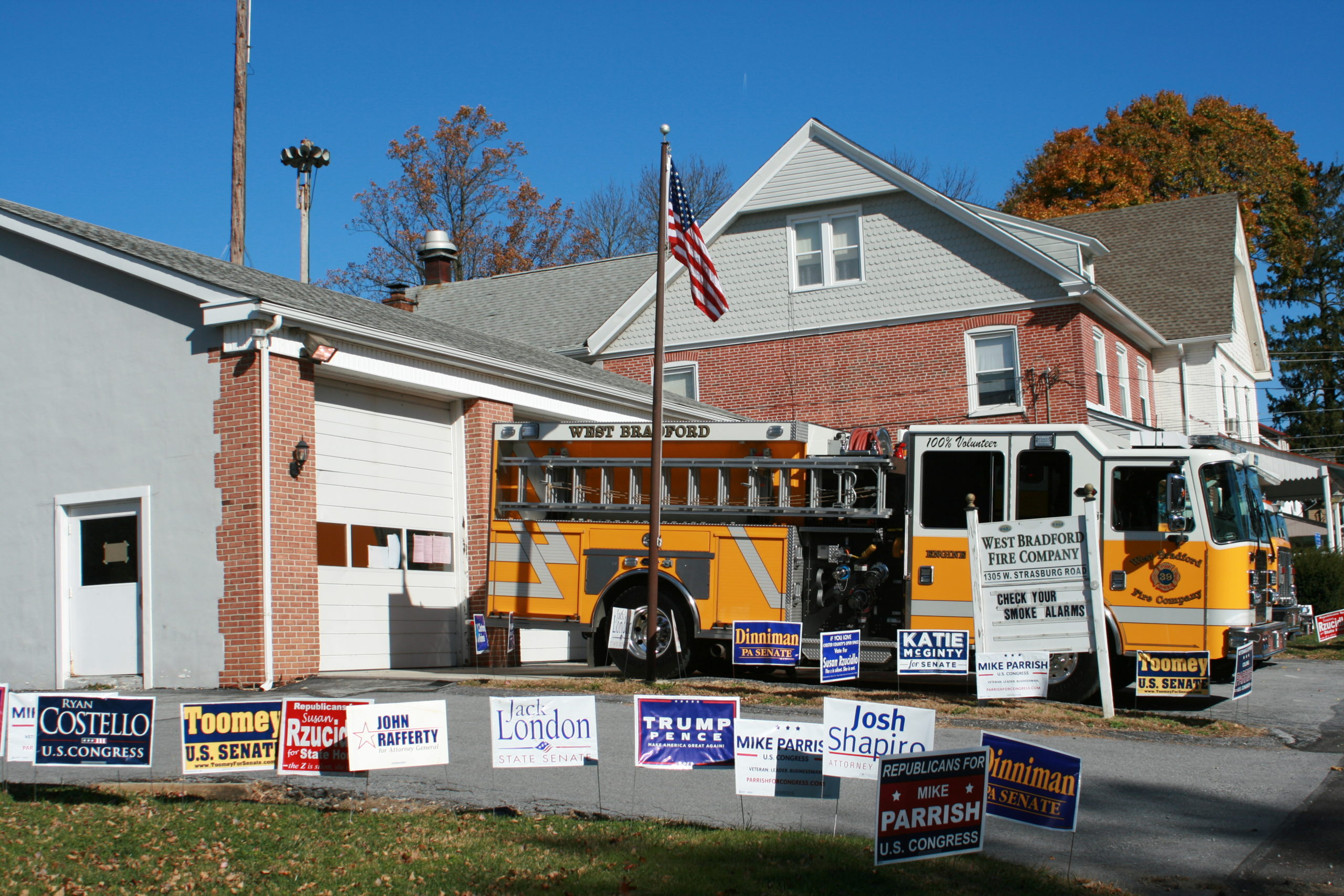 Analysis: Chester County Goes Blue, but Republicans Hold Seats in All Local Contests