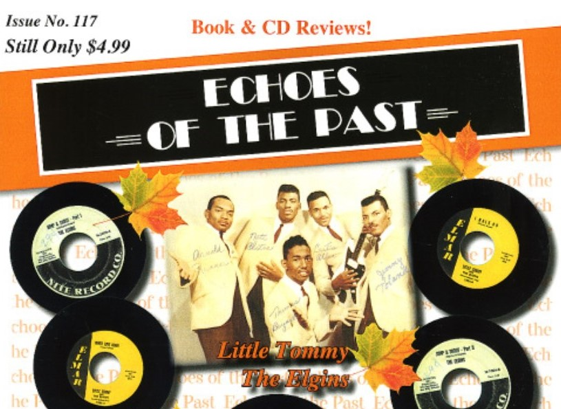 Doo-Wop Band from Early 1960s in Coatesville Makes Cover of Music Magazine