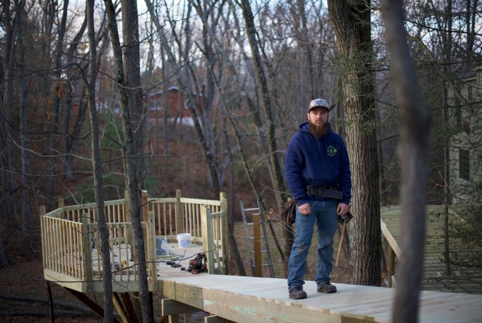 New York Times Talks Treehouse Construction with West Chester's Tree Top Builders