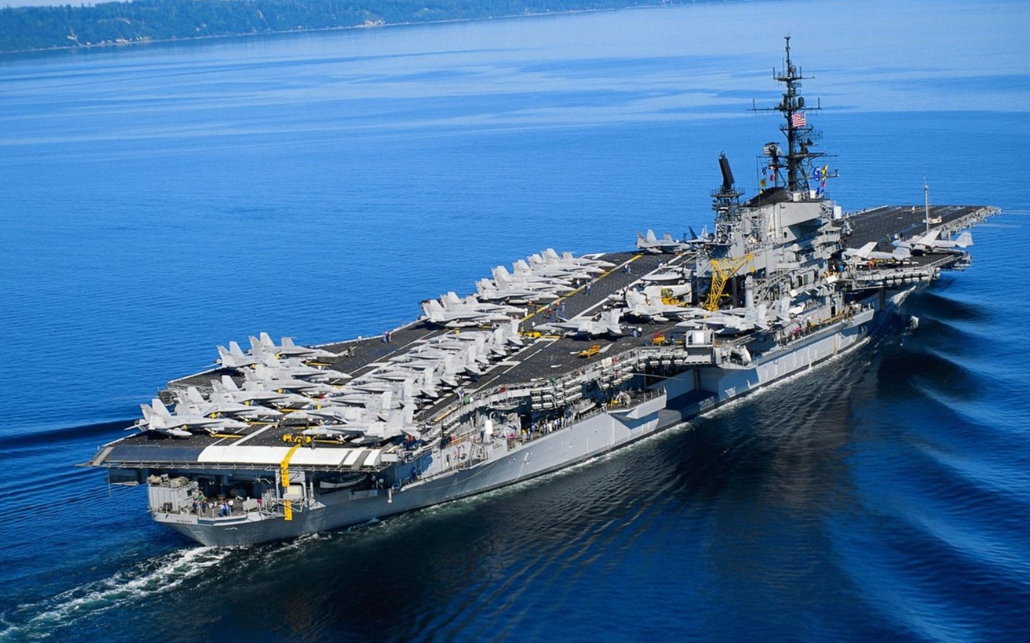 Coatesville's ArcelorMittal Celebrates November as U.S. Navy Aircraft Carrier Month