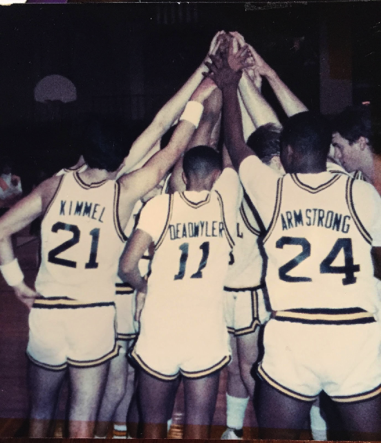 Figuring he'd never make the NBA, Kimmel dropped basketball after playing at Tatnall.