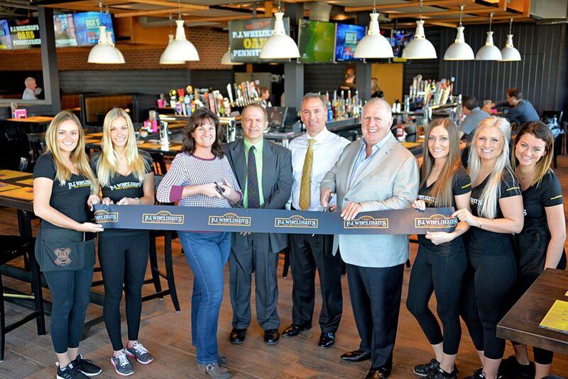 Restaurant Group Opens P.J. Whelihan's in Oaks, Its 14th Location in Region