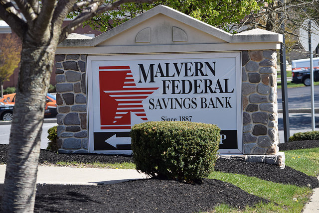 Malvern Bancorp Reintroduces Insurance Subsidiary, Malvern Insurance Associates
