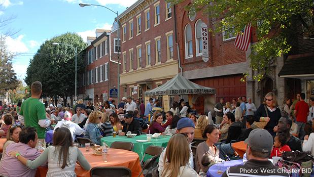 An 'Haute-Cuisine Mecca,' West Chester Wins Prestigious Great American Main Street Award