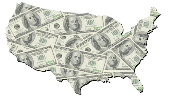 Personal Income of Greater Philadelphia Residents Places Region Eighth in Nation
