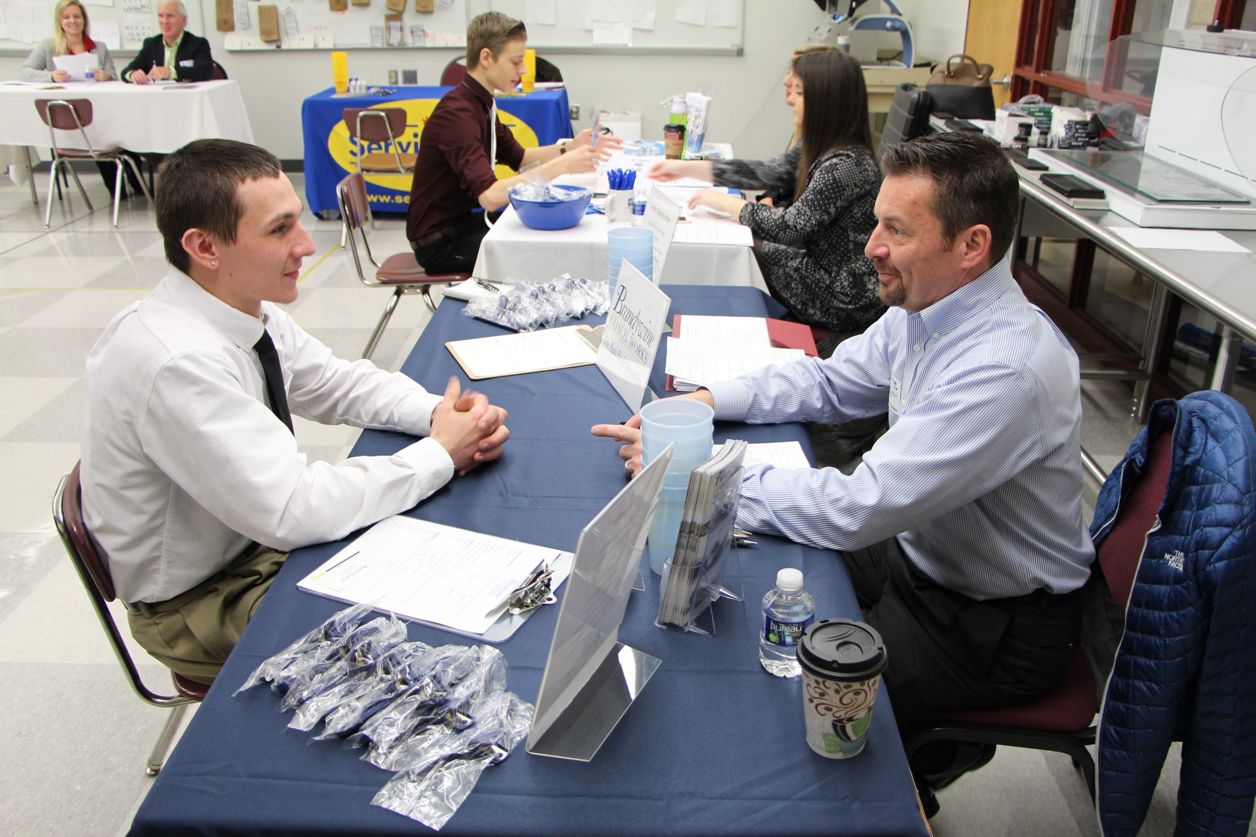 TCHS Brandywine's Career and Training Fair a Win-Win for Students, Employers