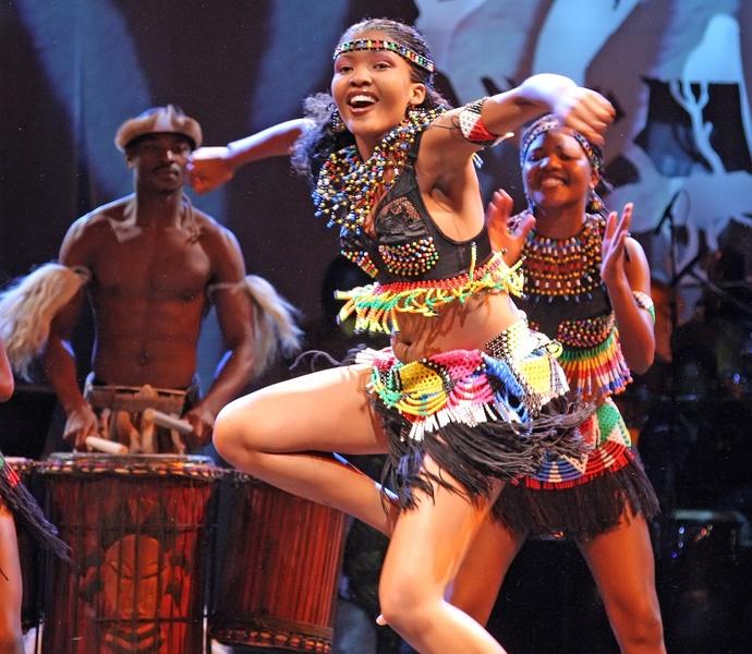 MOTHER AFRICA - Winston Ruddles Circus der Sinne -