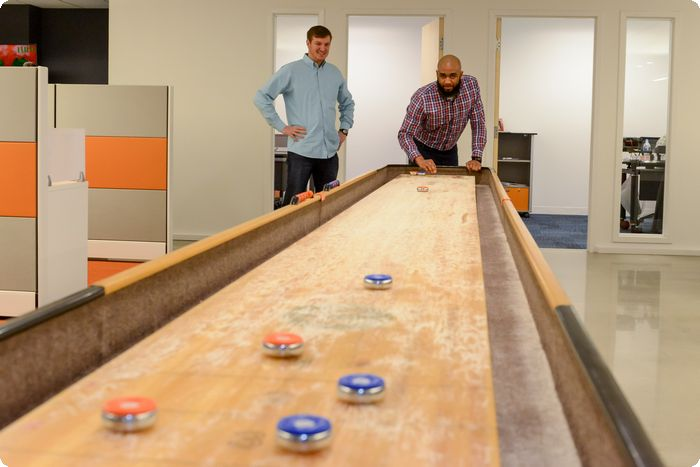 Exton's NextGen Security Lures New Recruits with Fun Office Environment