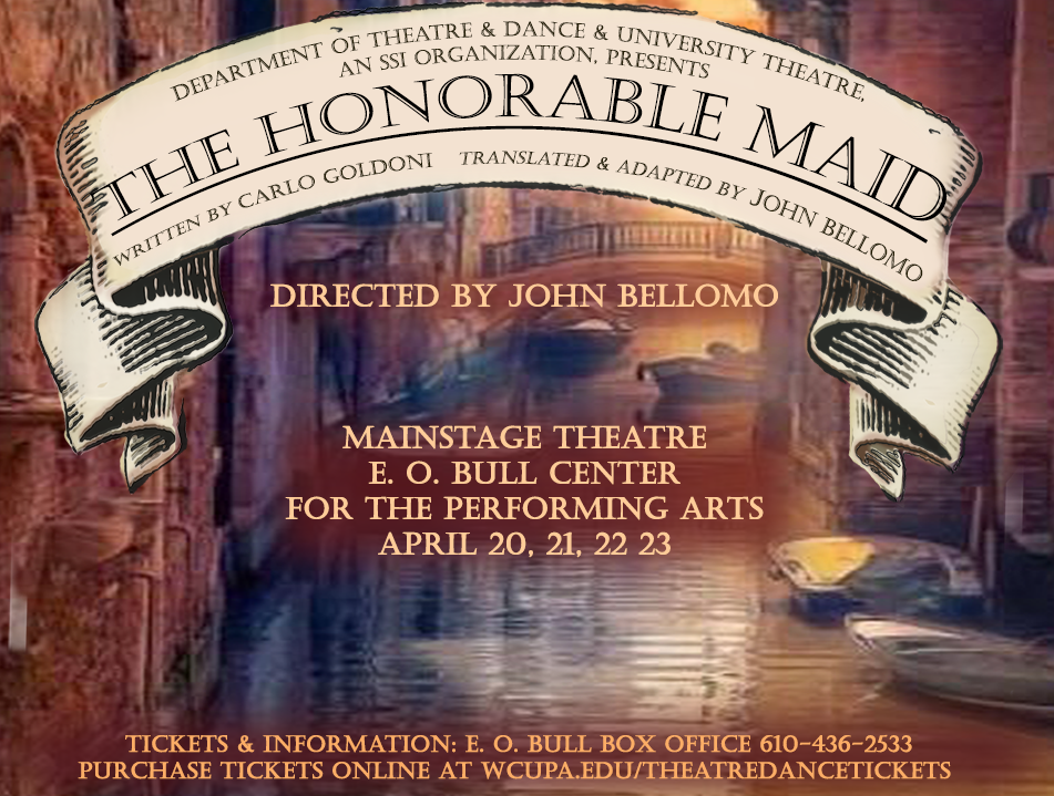 WCU's Department of Theatre, Dance to Present English Translation of The Honorable Maid