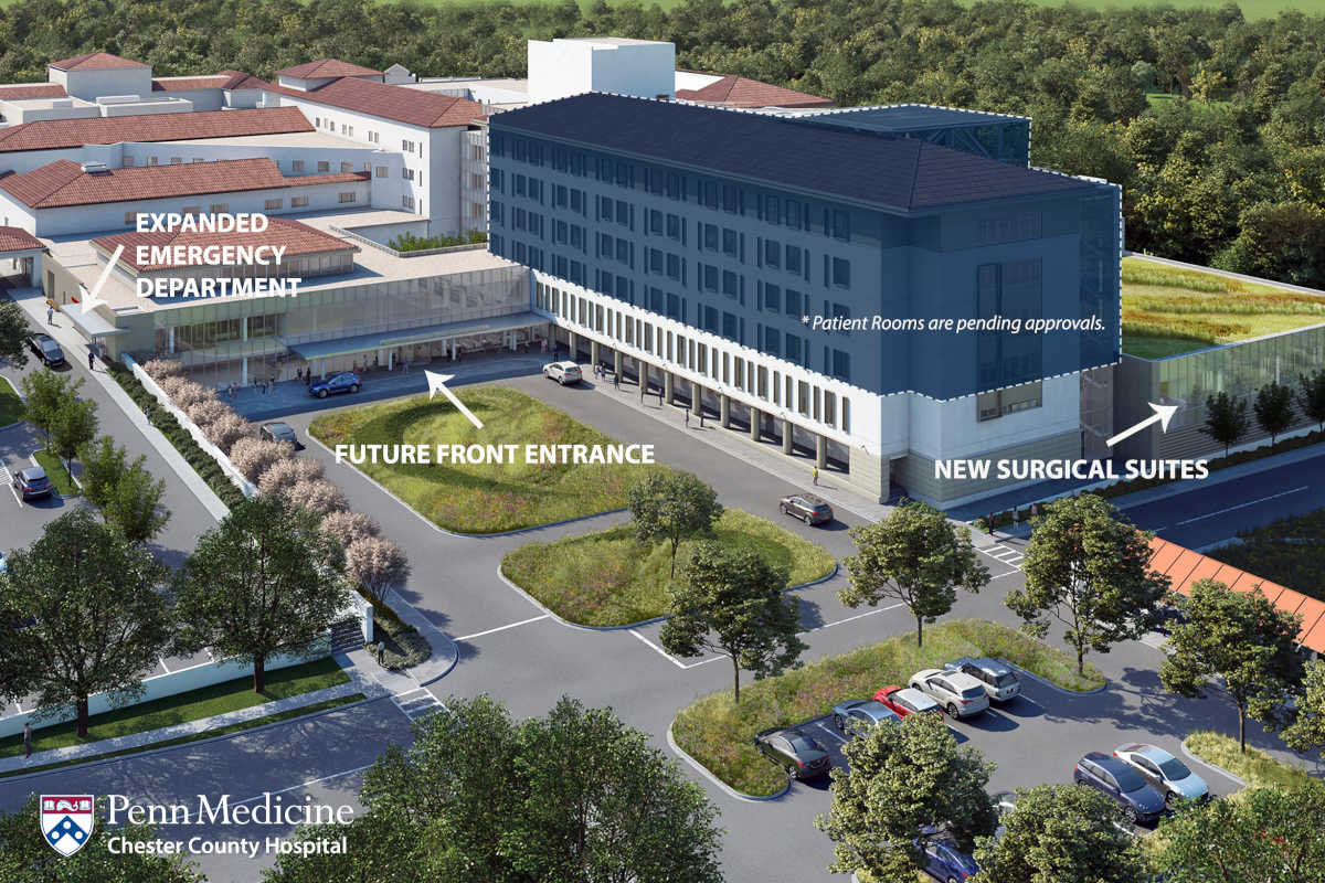 Chester County Hospital's $90 Million Expansion on Its Way