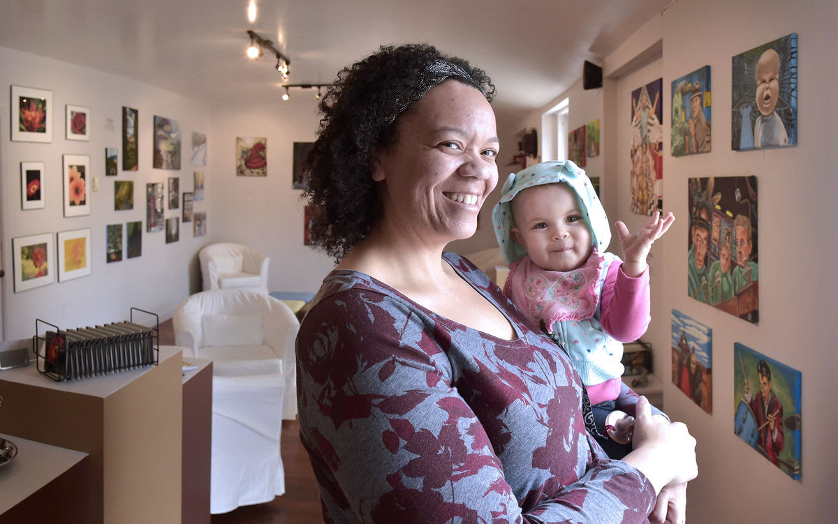 West Chester Woman Leaves Job as a Chemist to Relaunch Art Studio in Lancaster