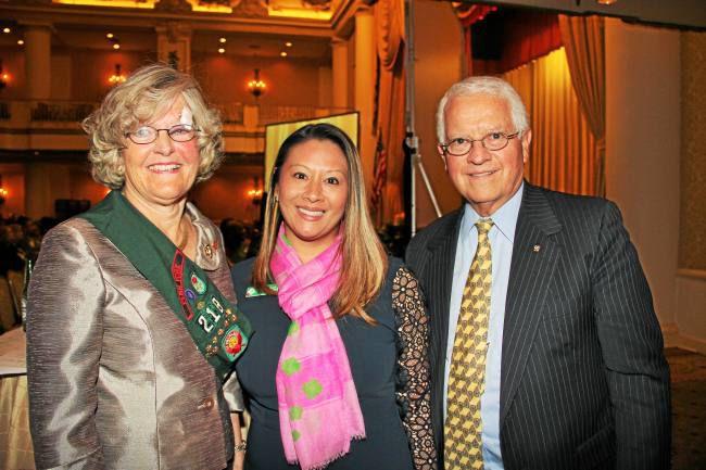 Girls Scouts Honor Malvern's Carol Aichele