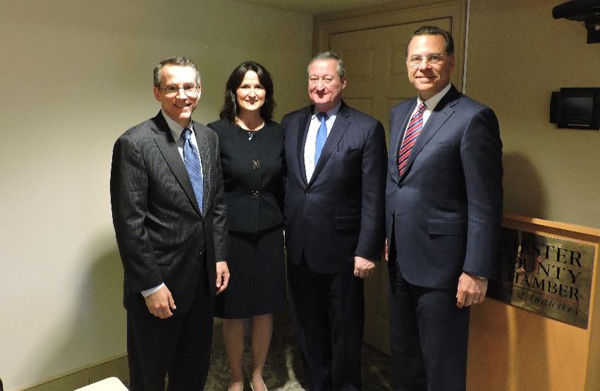 Chester County Chamber Welcomes Philadelphia Mayor Jim Kenney