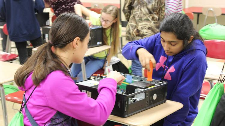 Girls Exploring Tomorrow's Technology Helps Reduce Gender Disparity in STEM Subjects