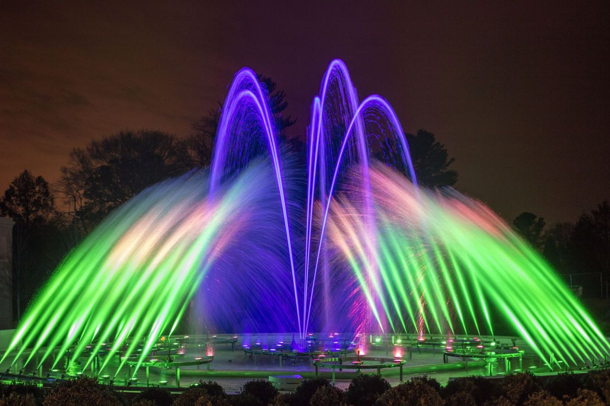 Longwood's Majestic Fountain Gardens Set for Reopening