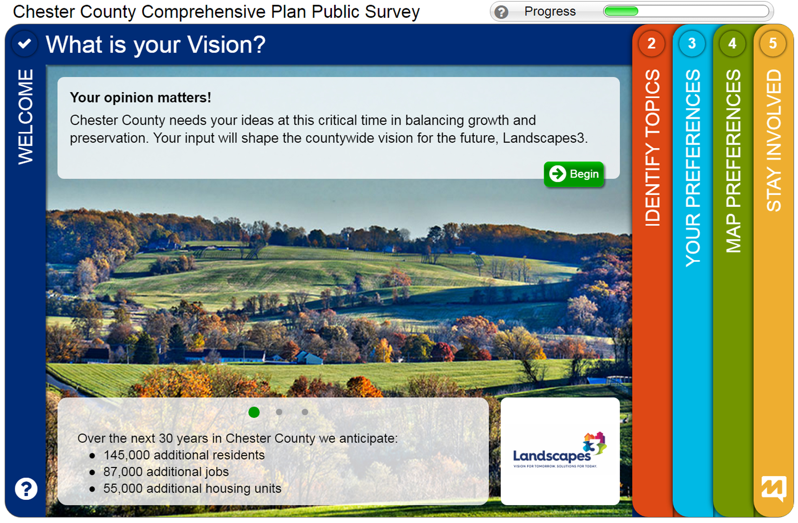 Commissioners Launch Public Survey About Future of Chester County
